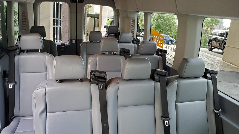 2018 Ford Transit Leather Seats